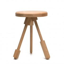 Tabouret Milk Stools 1 - Naturel