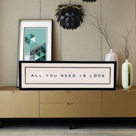 Cadre Vintage - All You Need Is Love