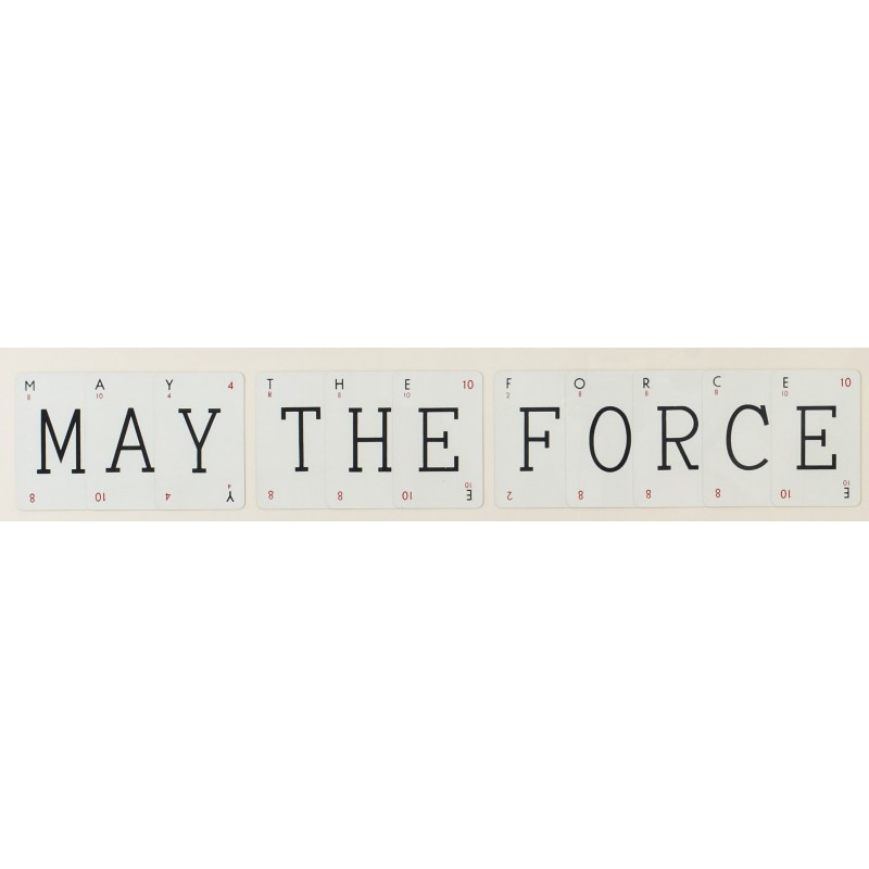 Cadre Vintage - May The Force Be With You
