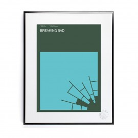 Affiche Breaking Bad - Exergian