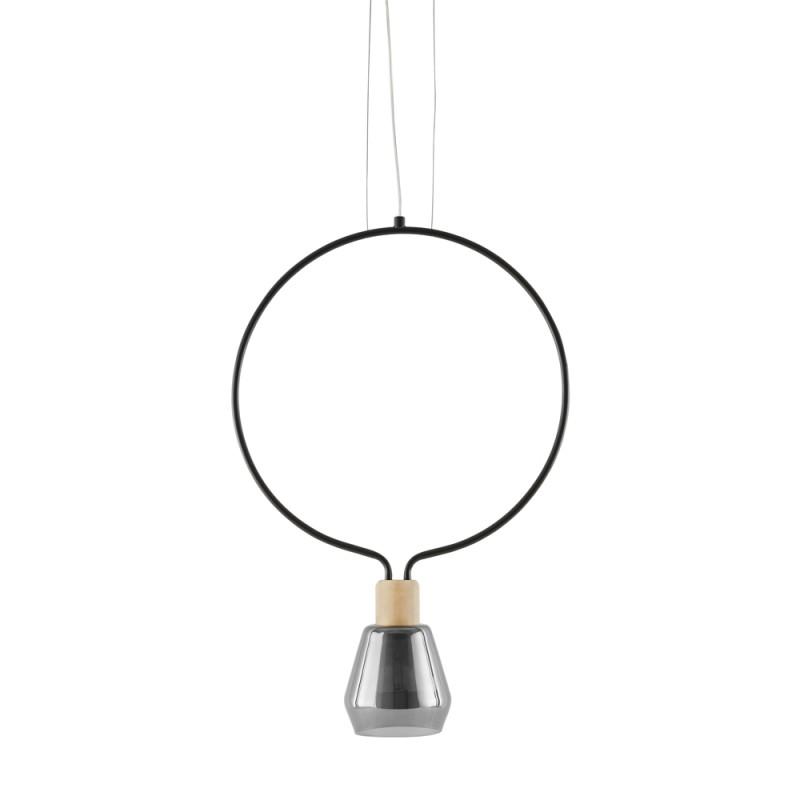 Suspension Design Ronde Agata Noir