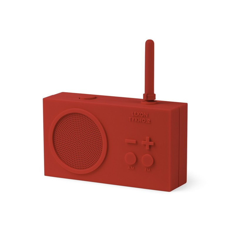 Radio Rechargeable Tykho Rouge Lexon Design